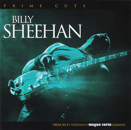 Photo of Live pic for Billy Sheehan album cover, Prime Cuts, released by Magna Carta Records, NYC, 2006.