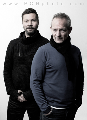 Photo of Petter Næss (with Stig Henrik Hoff)