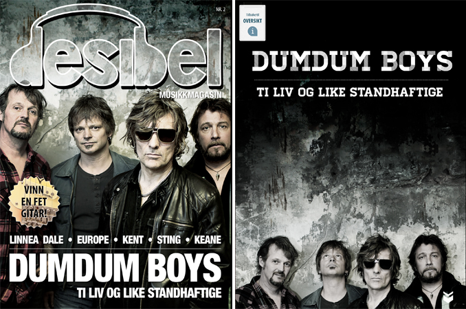 Photo of Cover story/photo: Desibel (Norwegian magazine)