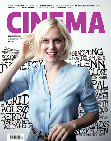 Photo of Front cover photo of Ingrid Bolsø Berdal - Cinema # 4 - 2012