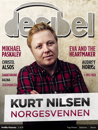 Photo of Desibel music magazine