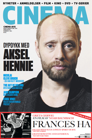 Photo of CINEMA Avis cover photo: Aksel Hennie