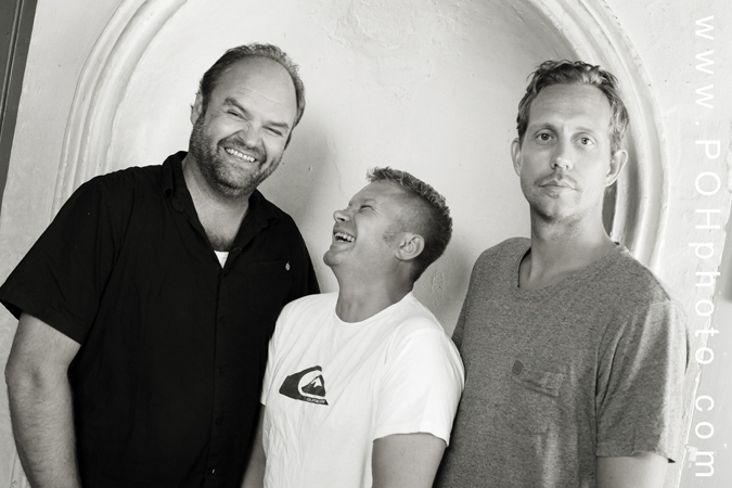 Photo of Atle Antonsen, Edward Schultheiss, Morten Ramm