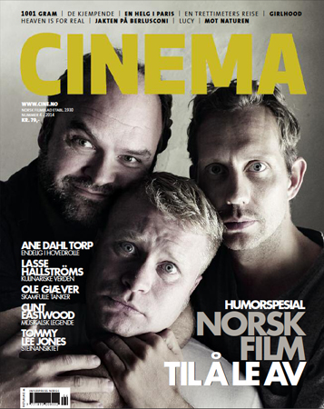 Photo of CINEMA cover photo: Atle Antonsen, Edward Schultheiss, Morten Ramm - 2014