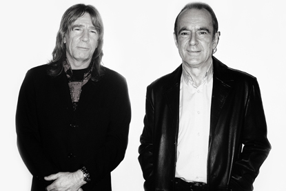 Photo of Rick and Francis of Status Quo