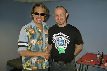 Photo of David Lee Roth!