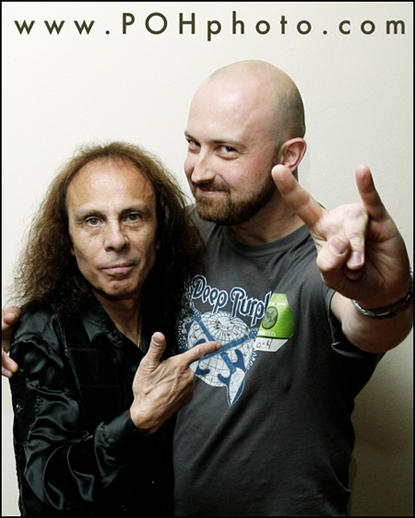Photo of Ronnie James Dio (Rainbow, Black Sabbath, Dio, Heaven & Hell)