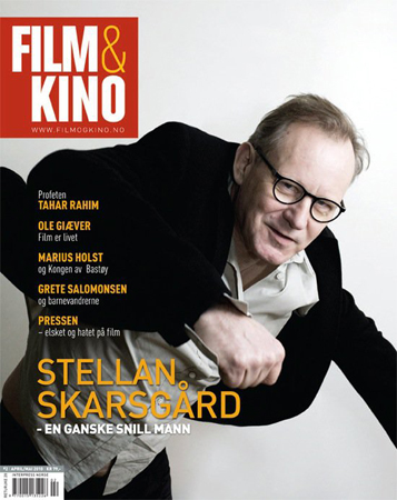Photo of Film&Kino cover photo: Stellan Skarsgård.