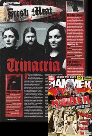 Photo of Press pic of Trianacria (Metal Hammer)