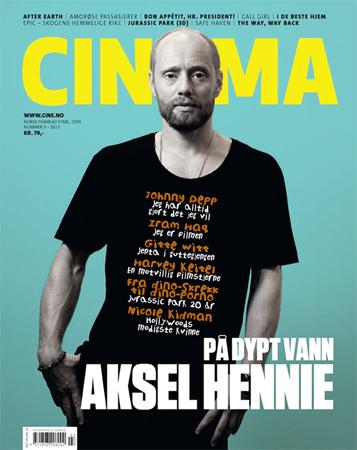 Photo of CINEMA cover photo: Aksel Hennie
