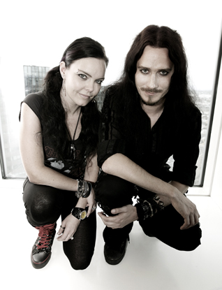 Photo of Anette & Tuomas of Nightwish